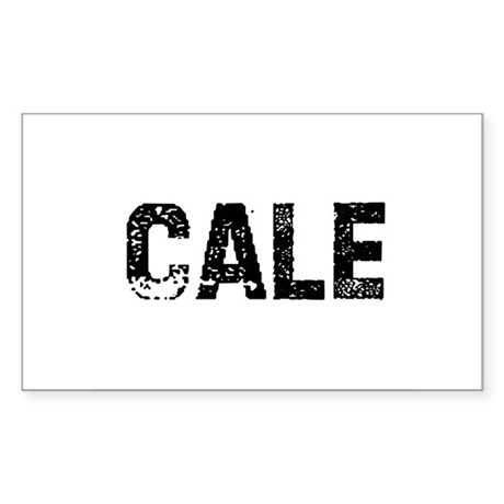 Cale Rectangle Sticker