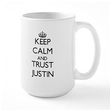 Keep Calm and TRUST Justin Mugs