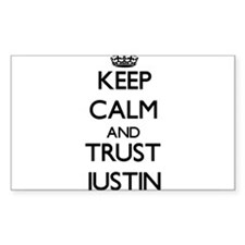 Keep Calm and TRUST Justin Decal