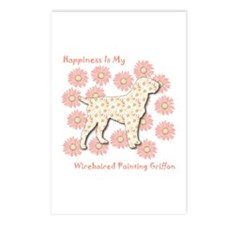 Griffon Happiness Postcards (Package of 8)
