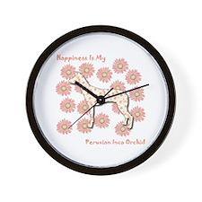 PIO Happiness Wall Clock