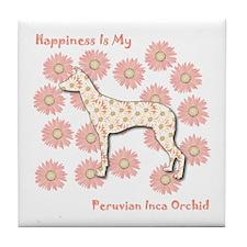PIO Happiness Tile Coaster