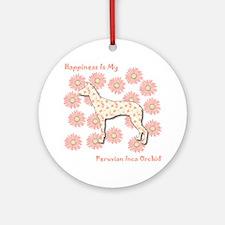 PIO Happiness Ornament (Round)