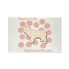 PLS Happiness Rectangle Magnet (10 pack)