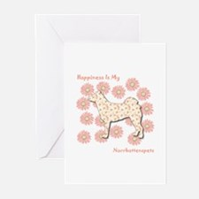 Norrbottenspets Happiness Greeting Cards (Package