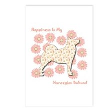 Buhund Happiness Postcards (Package of 8)
