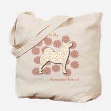 Buhund Happiness Tote Bag