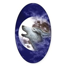 Kindle Kickstand Case-Moon Wolf Decal