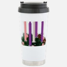 Advent Candles Stainless Steel Travel Mug