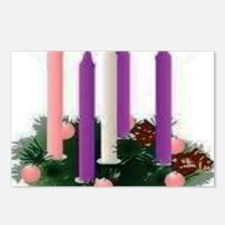 Advent Candles Postcards (Package of 8)