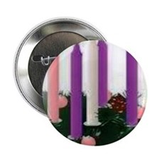"Advent Candles 2.25"" Button"