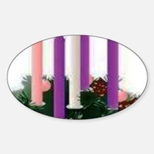 Advent Candles Decal