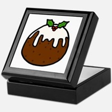 'Xmas Pudding' Keepsake Box