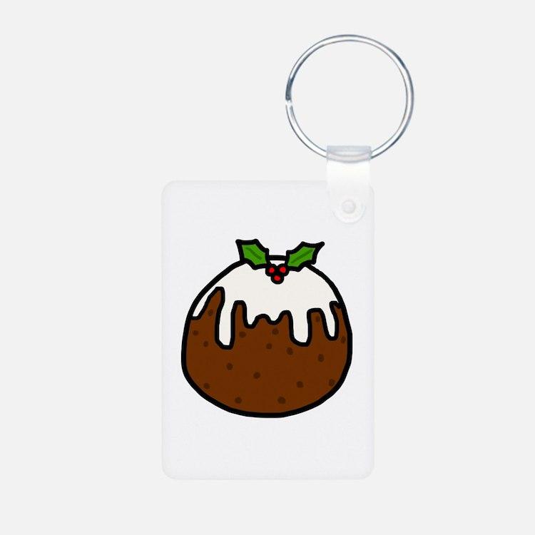 'Xmas Pudding' Keychains