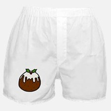 'Xmas Pudding' Boxer Shorts