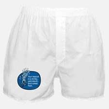 Stinky foot mascot Boxer Shorts