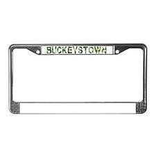 Buckeystown, Vintage Camo, License Plate Frame
