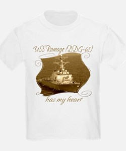 USS Ramage (DDG-61) T-Shirt