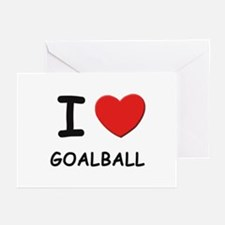 I love goalball  Greeting Cards (Pk of 10)