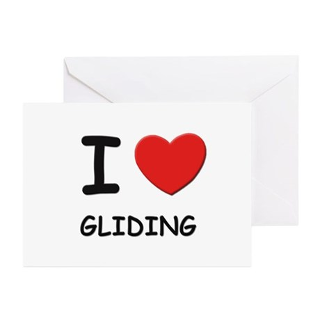 I love gliding Greeting Cards (Pk of 10)