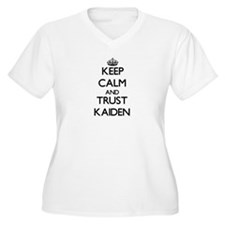 Keep Calm and TRUST Kaiden Plus Size T-Shirt