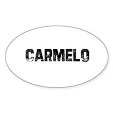 Carmelo Oval Decal