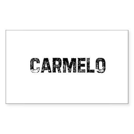 Carmelo Rectangle Sticker