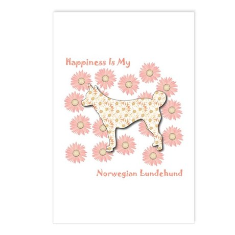Lundehund Happiness Postcards (Package of 8)