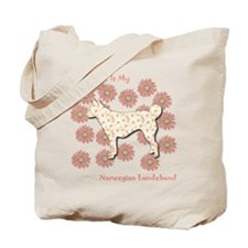 Lundehund Happiness Tote Bag