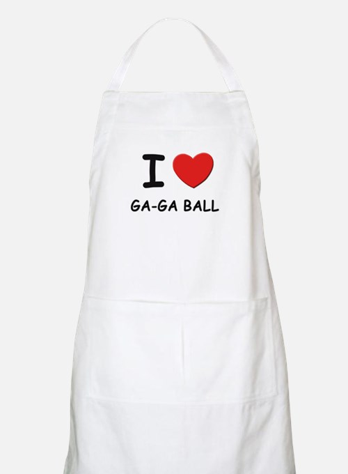 I love ga-ga ball  BBQ Apron