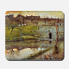 Carl Larsson: El Estanue de Watercolor Mousepad