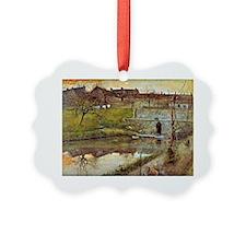 Carl Larsson: El Estanue de Water Ornament