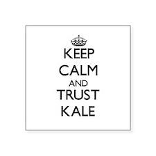 Keep Calm and TRUST Kale Sticker