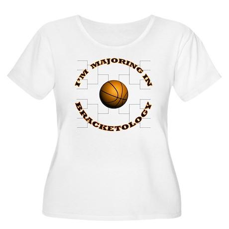Bracketology Women's Plus Size Scoop Neck T-Shirt