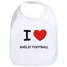 I love gaelic football  Bib
