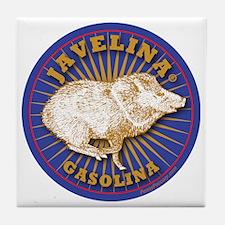 Javelina Gasolina Tile Coaster