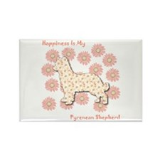 Pyrenean Happiness Rectangle Magnet (100 pack)