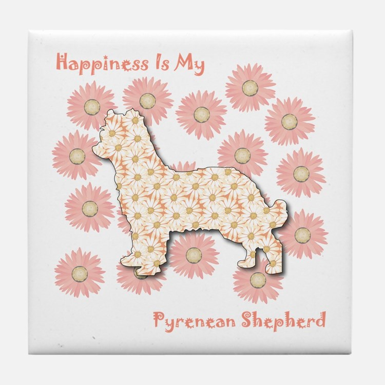 Pyrenean Happiness Tile Coaster