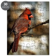 Male northern cardinal Puzzle
