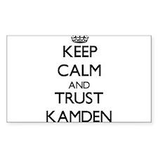 Keep Calm and TRUST Kamden Decal