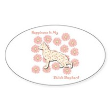 Shiloh Happiness Oval Decal