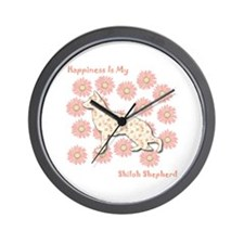 Shiloh Happiness Wall Clock