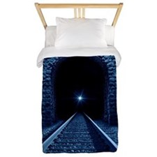 Light at the end of the Tunnel Twin Duvet