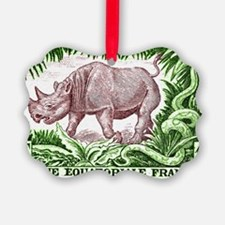 1947 French Equatorial Africa Rhi Ornament