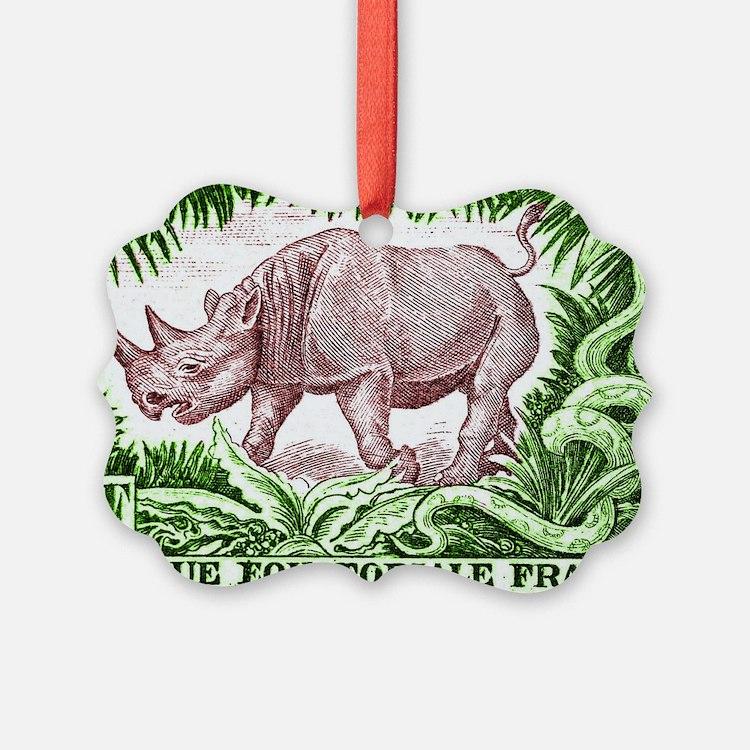 1947 French Equatorial Africa Rhi Ornament