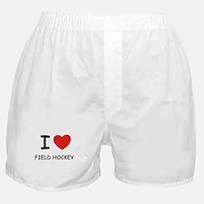 I love field hockey  Boxer Shorts