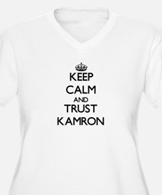 Keep Calm and TRUST Kamron Plus Size T-Shirt