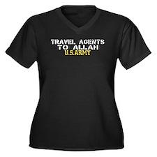 Travel agents to allah Women's Plus Size V-Neck Da