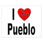 I Love Pueblo Small Poster