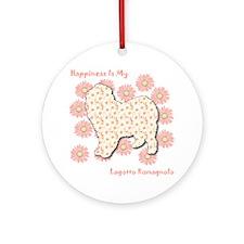 Lagotto Happiness Ornament (Round)